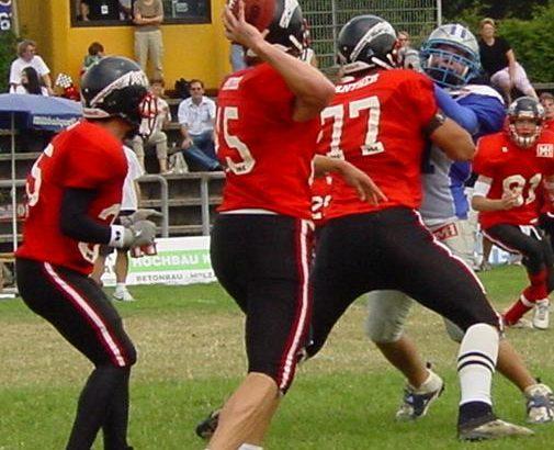 2003: Zukünftiger NFL-Spieler im Juniorbowl