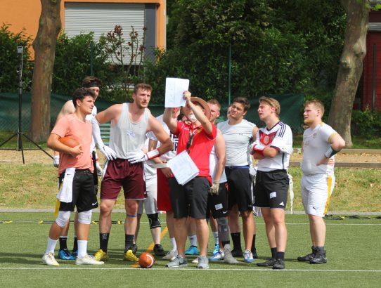 Tryout Flag Football Nationalteams: Vielversprechender Beginn