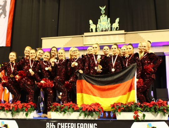 2015: Cheerleading WM in Berlin
